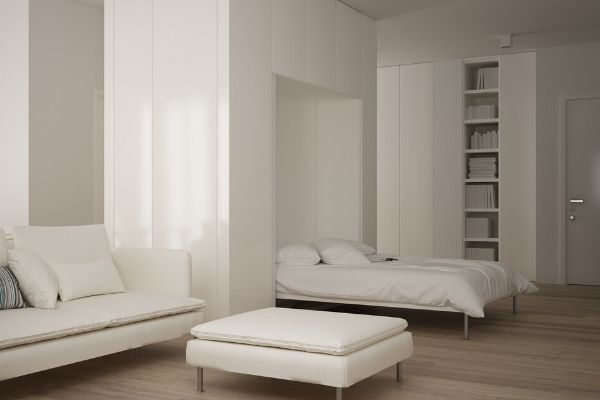 murphy bed is one of the space saving options for home